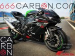 Complete carbon fairing kawasaki zx10r 16-20 twill 400 texture