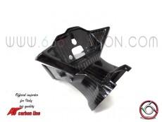 twill400 carbon instrument holder with air tube, honda cbr1000rr 2020-2021