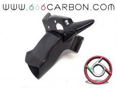 Carbon fiber air duct + subframe o Yamaha R1 2020-2021