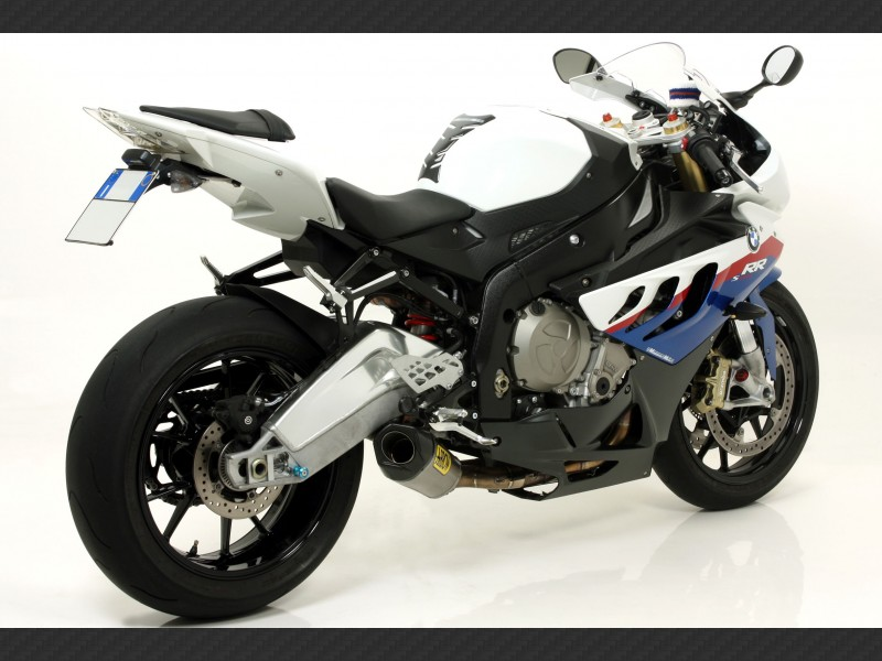 Competition Full System With Carby End Cap Bmw S 1000 Rr 2009 2011 Arrow 71116ckz