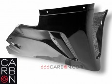 Honda CBR 1000 RR 2020 carbonio autoclave twill200 racing lower fairing