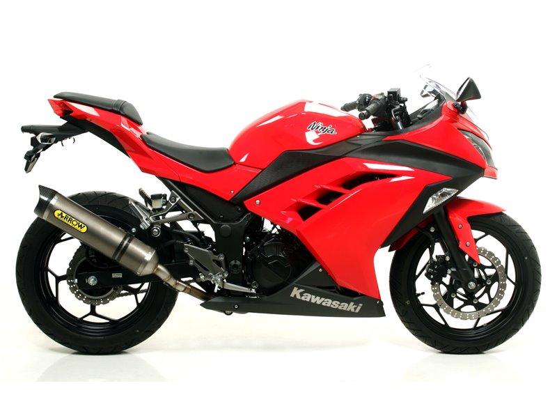 Competition Full System Kawasaki Ninja 250 2013 2016 Arrow 71122ckz