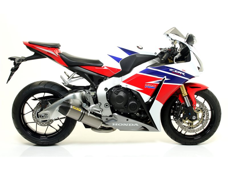 Competition Full Titanium Full System For Tuned Bikes Only Honda