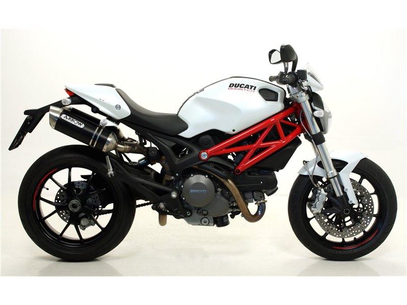 Terminali Thunder Carbonio Dx Sx Ducati Monster 796 2010 2014