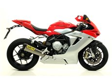 COMPETITION full system with dBKiller with carby end cap MV Agusta F3 675 2012-2016