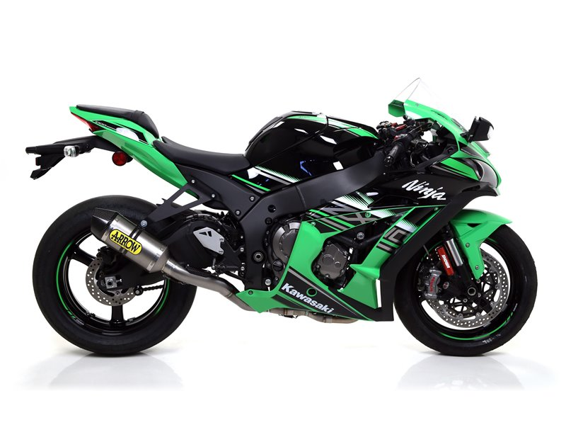 """COMPETITION """"FULL TITANIUM"""" full system with dBKiller with carbon end cap Kawasaki ZX-10R 2016-"""
