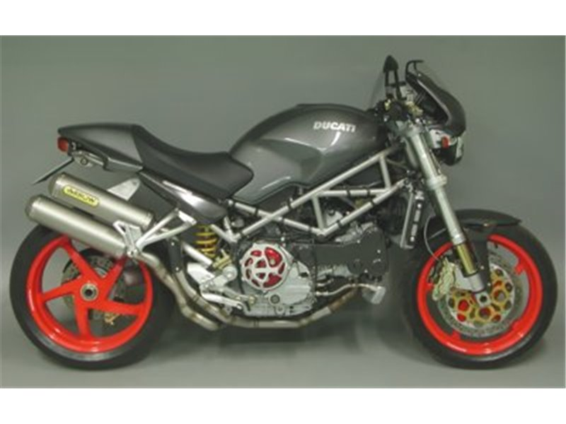 2 into 2 joints for stock coll. Ducati MONSTER S4R 2003-2006