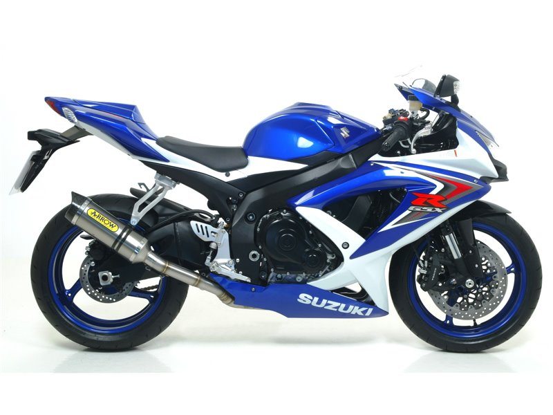 Mid-pipe for Thunder silencers for Arrow collectors Suzuki GSX-R 600