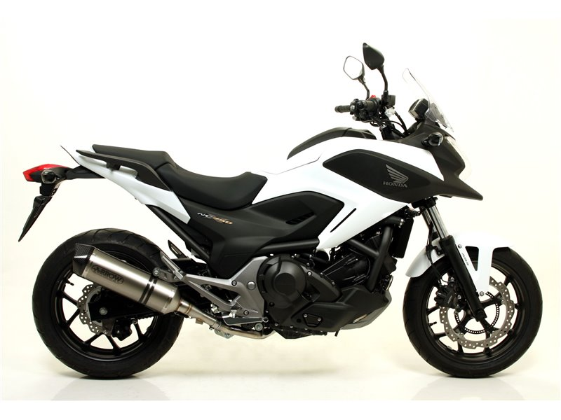 joint honda nc 750 x 2014 2015 arrow 71463mi. Black Bedroom Furniture Sets. Home Design Ideas