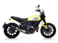 Silencioso Pro-Race titanio Ducati Scrambler 2015-2016