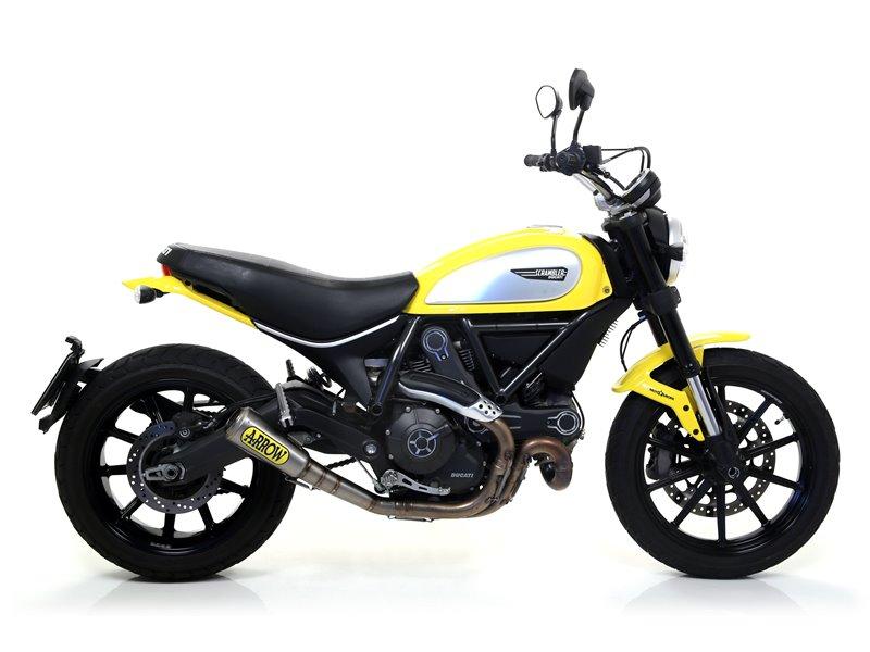 Pro-Race titanium silencer Ducati Scrambler 2015-2016