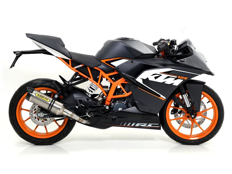 Ktm Rc Exhaust Arrow