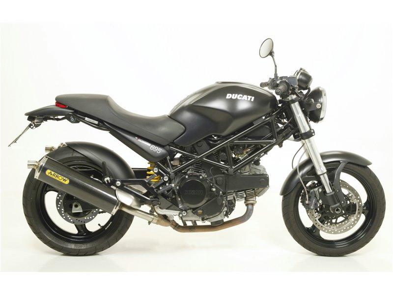 Terminali Race Tech Approved Carbonio Dx Sx Ducati Monster 695