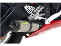 "Street Thunder aluminium ""Dark"" silencer for stock collectors Yamaha YZF 600 R6 2006-2007"