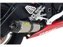 """Street Thunder aluminium """"Dark"""" silencer with carby end cap Yamaha YZF 600 R6 2006-2007"""
