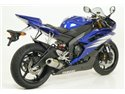 Terminale thunder approved titanio per collettori arrow Yamaha YZF 600 R6 2006-2007