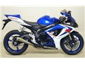 Thunder Approved carby silencer with carby end cap Suzuki GSX-R 600 i.e. 2006-2007 Arrow 71702MK