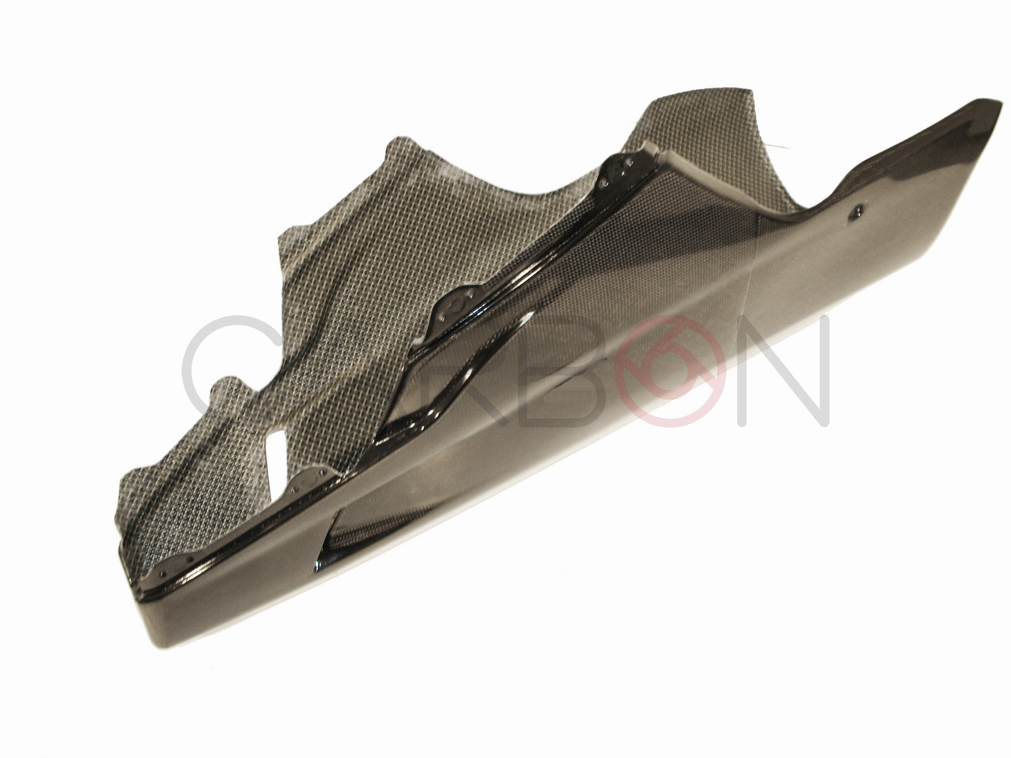 Carbon Fiber Racing Belly Pan Ducati 848 1098 1198